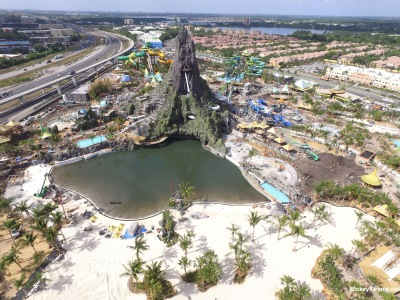 Volcano Bay Moving Along