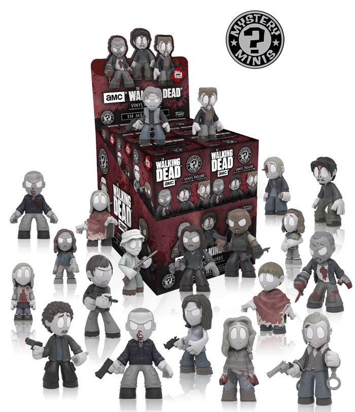 The Walking Dead Mystery Minis!
