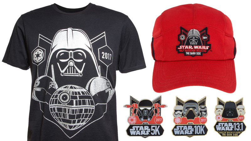 runDisney Star Wars Half Marathon – The Dark Side Merchandise
