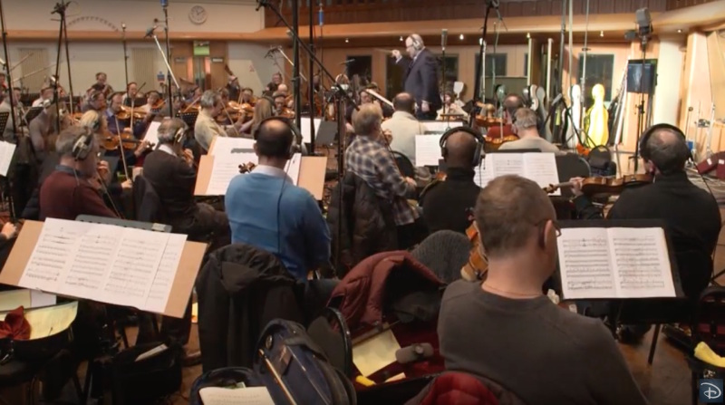 Inside the 'Happily Ever After' Score Recording Session