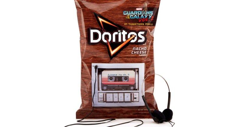 Promo Doritos Bag lets You Listen to Guardians of the Galaxy Vol.2 Soundtrack