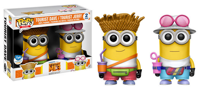 Despicable Me 3 Exclusives