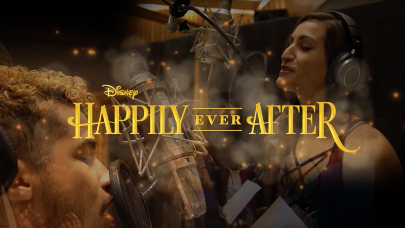 Singers Jordan Fisher & Angie Keilhauer Share Their 'Dream' Recording The 'Happily Ever After' Theme
