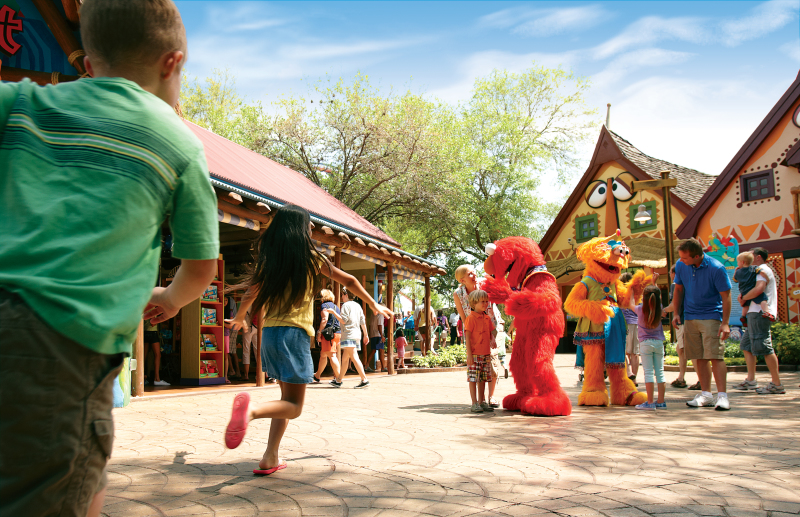 Sesame Street Safari of Fun Weekends in May at Busch Gardens Tampa