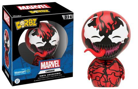 Carnage and Anti-Venom Dorbz Coming Soon to Walmart