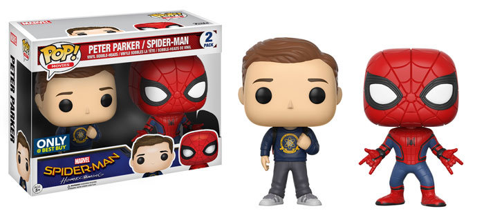 Spider-Man Homecoming Funko Exclusives coming this Summer