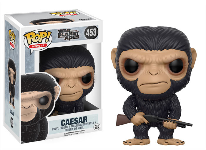 War for the Planet of the Apes Pops! Coming Mid-May