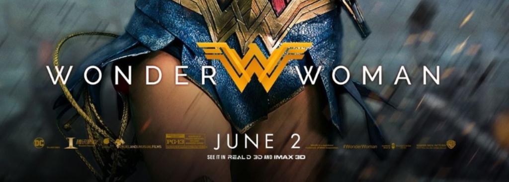New Wonder Woman Movie Poster