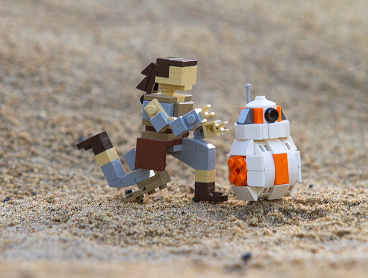 LEGO Star Wars MINILAND Display Inspired by 'Star Wars – Episode VII: The Force Awakens' Coming to L