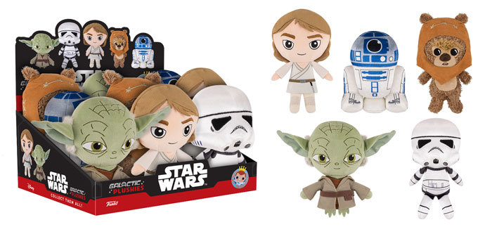 Star Wars Galactic Plushies, Rogue One Pops & Mystery Minis Coming Soon