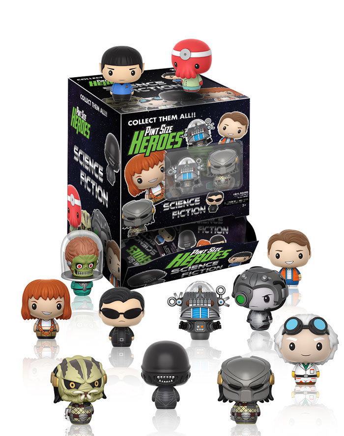 Science Fiction Pint Size Heroes Coming in July