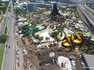 New Photos of Universal's Volcano Bay