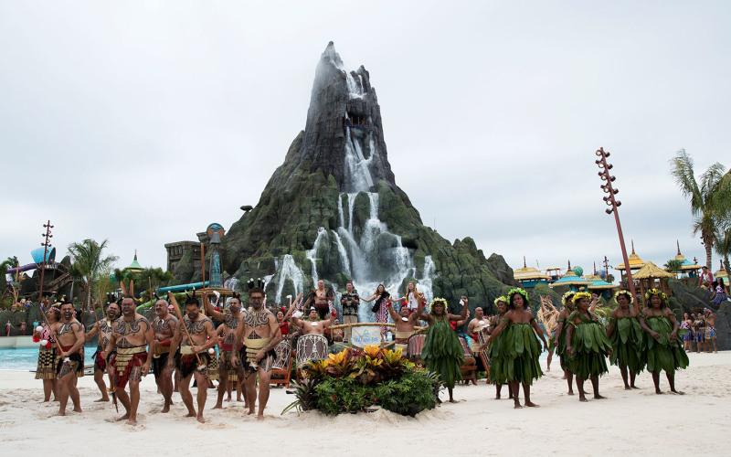 Universal's Volcano Bay is Now Open