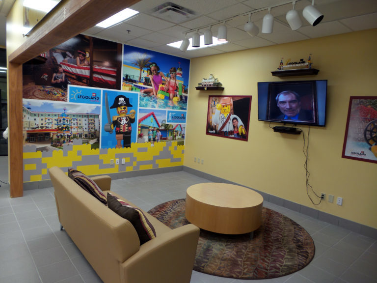 LEGOLAND® Florida Resort donates design and decor for kids play area at Patrick Air Force Base