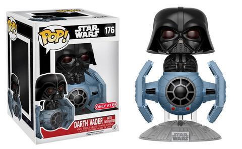 Coming Soon to Target Star Wars Darth Vader in Tie Fighter Pop!