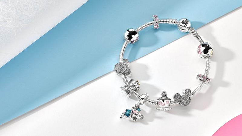 Fantasyland Charm Set Now Available at PANDORA Jewelry at Disney Parks