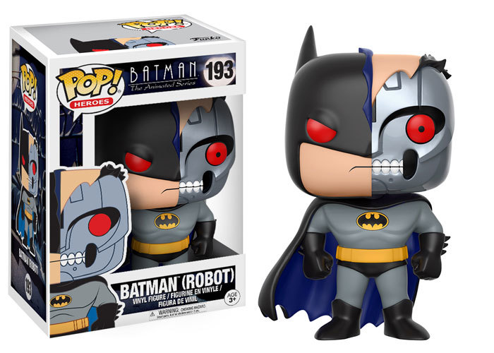 Batman: The Animated Series Pops! Coming Soon