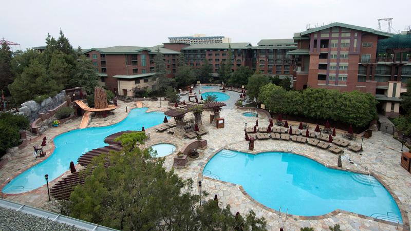 New Pool Deck at Disney's Grand Californian Hotel & Spa