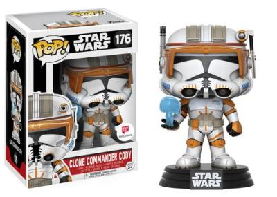 Walgreens Exclusive Star Wars Clone Commander Cody Pop! Coming Soon