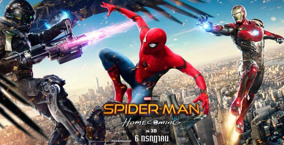 New Spider-Man Homecoming International Poster and Banner