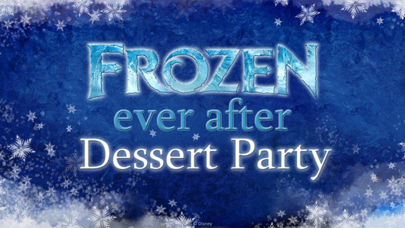 Reservations Open Today for Frozen Ever After Sparkling Dessert Party at Epcot