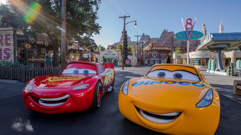 Cruz Ramirez from Disney·Pixar's 'Cars 3' is on Her Way to Disney Parks