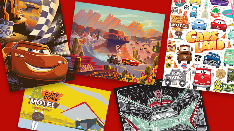 Artists Celebrate Disney-Pixar's 'Cars' and Cars Land at Disney California Adventure