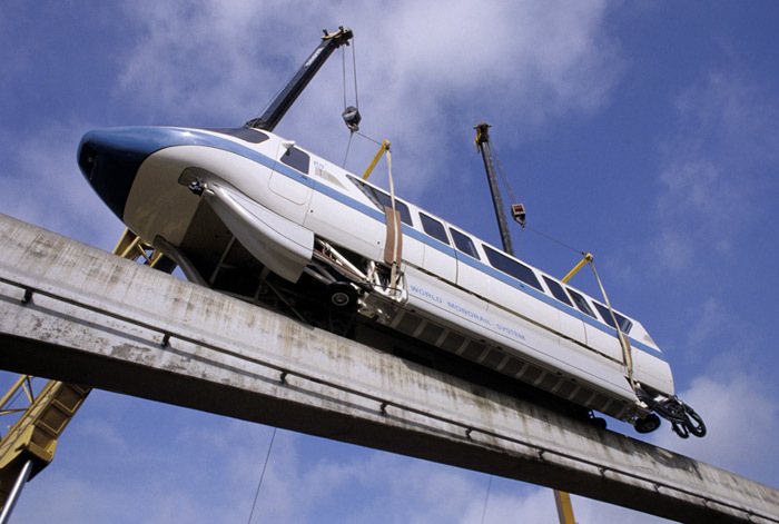Object Falls from Monorail at Walt Disney World