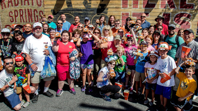 Larry the Cable Guy Surprises Cars Land Guests