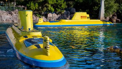 Finding Nemo Submarine Voyage at Disneyland Celebrating Ten Years