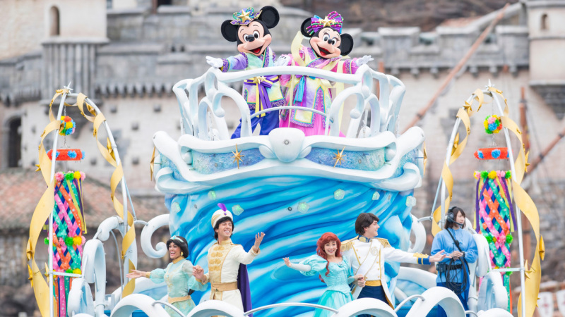Celebrate Disney Tanabata Days at Tokyo Disney Resort