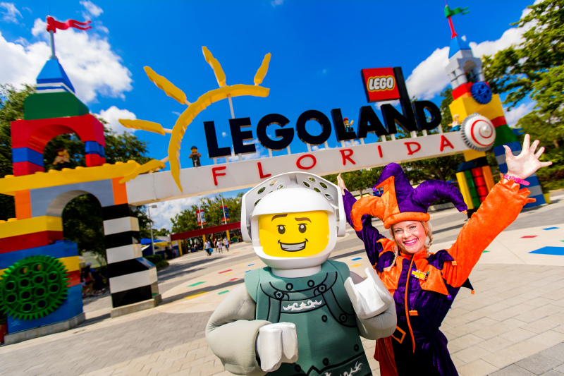 We're Counting Down the Days to LEGOLAND Knight Lights