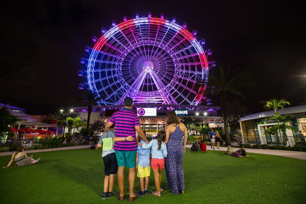 Coca-Cola Orlando Eye Celebrates Fourth of July
