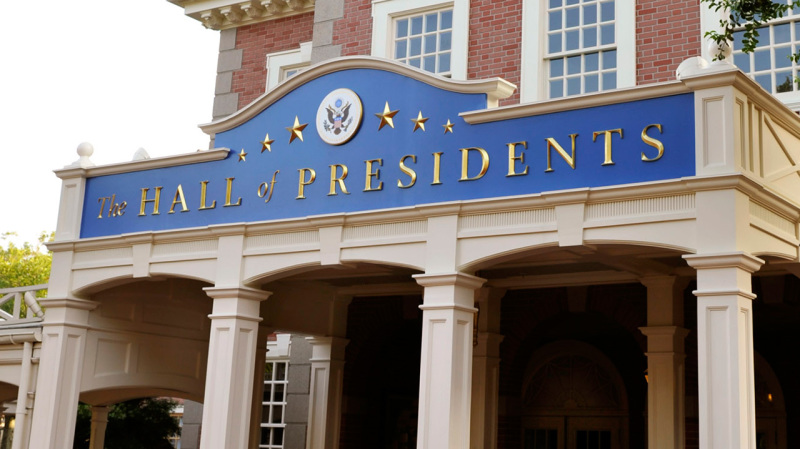 Latest on Enhancement to The Hall of Presidents at Magic Kingdom Park