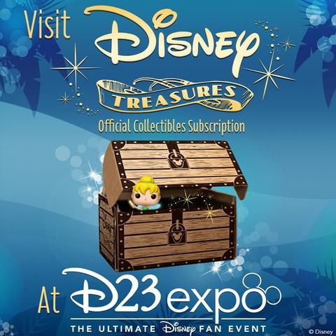 Funko's Disney Treasures at D23 Expo!