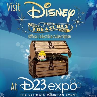 Funko's Disney Treasures at D23 Expo!