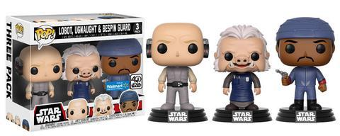 Coming soon to Walmart: Exclusive Pop! Star Wars 3-Packs!