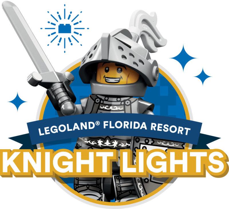 'Nighty Knighting' at LEGOLAND Florida Resorts Knight Lights Fireworks