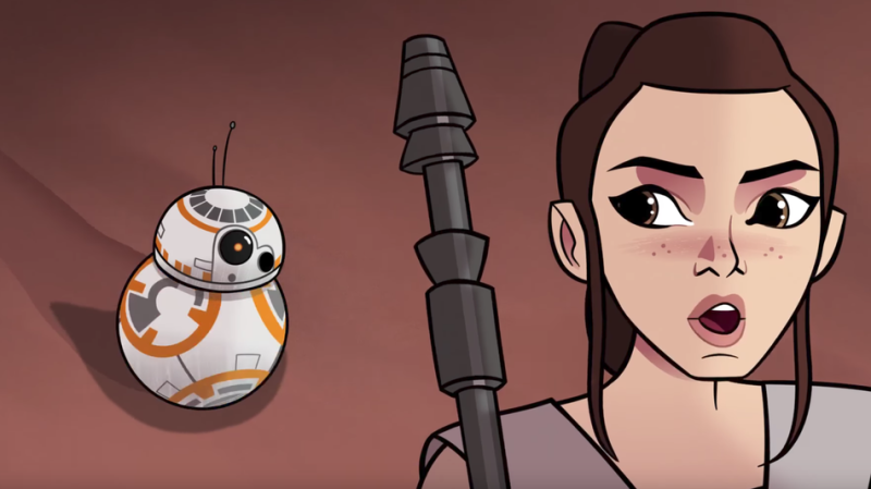 Star Wars Forces of Destiny Episode 2 BB-8 Bandits