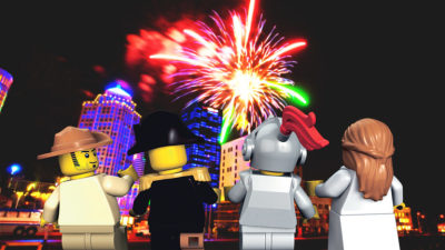 Don't miss LEGOLAND Florida's July 4th fireworks spectacular at 9 p.m. Tuesday