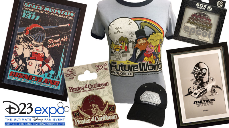 'Through the Years' Collections Will Celebrate Key Milestones at Disney Parks During D23 Expo