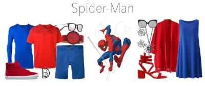 Spider-Man Clothing at Marvel Day at Sea