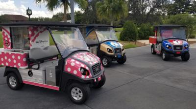 New Disney-Themed Refreshment Carts Serving Up Magic at Walt Disney World Resort Golf Courses