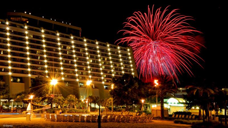 Three New Year's Eve Celebrations at Disney's Contemporary Resort