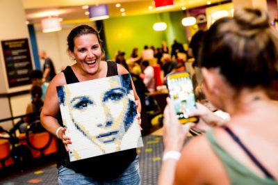 UK singing sensation Sam Bailey visits LEGOLAND® Florida