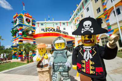 Kids Stay and Play FREE when you book a LEGOLAND Florida Resort vacation package!