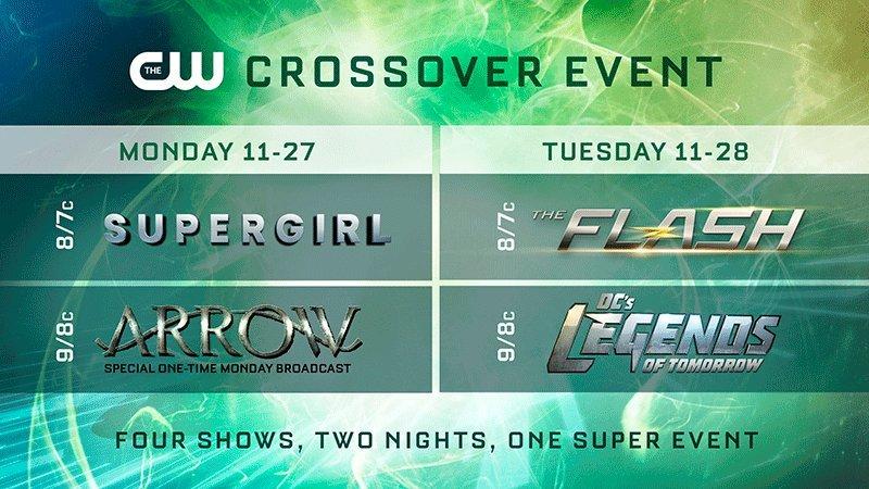 CW Announces Crossover Event