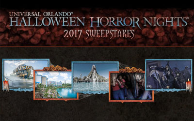 Enter the Halloween Horror Nights Sweepstakes