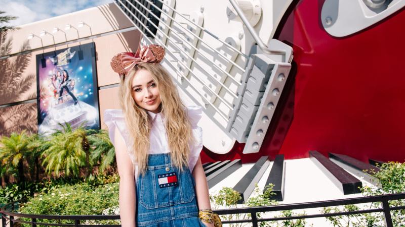 Pop Star Sabrina Carpenter Visits Walt Disney World