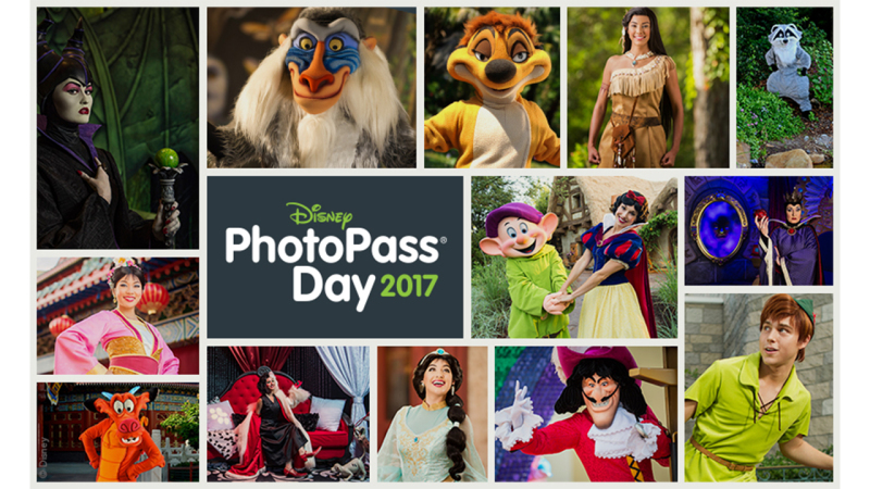 Disney PhotoPass Day Experiences and Photo Opportunities